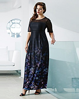 Anna Scholz Ombre Maxi Dress