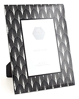 Deco Silver Picture Frame