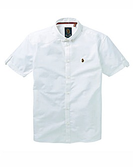 Luke Sport SS White Oxford Reg
