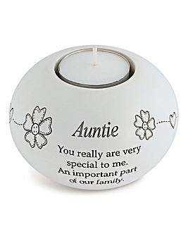 Auntie Sentiments Tea Light Holder
