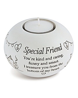 Special Friend Tea Light Holder