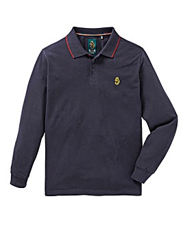 Luke Sport Long Sleeved Mead Polo Reg