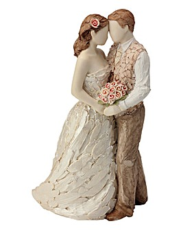 More Than Words Wedding Couple Figure