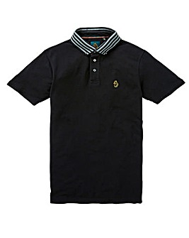 Luke Sport Stripe Collar Polo Long