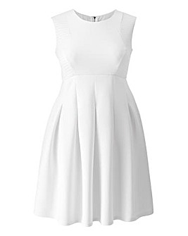 Grazia Textured Skater Dress