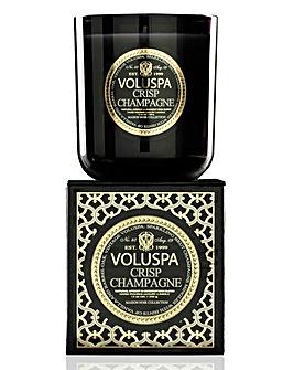 Voluspa Crisp Champagne 12oz Box Candle