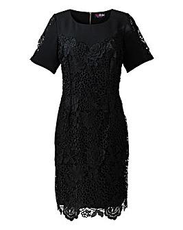 Lovedrobe Lace Trim Dress