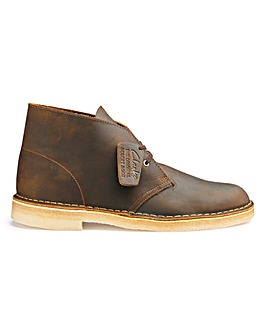 Clarks Originals Leather Desert Boots