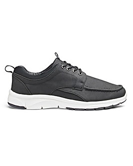 Casual Lace Up Trainers Wide Fit