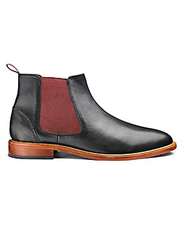 Leather Chelsea Boot Wide Fit