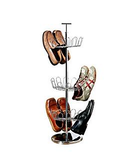 Premier Housewares Revolving Shoe Stand