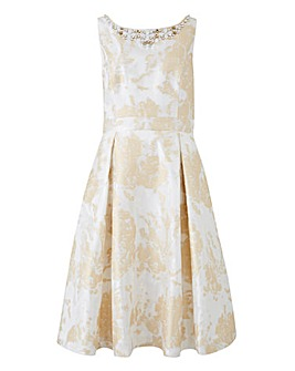 Joanna Hope Jacquard Prom Dress