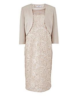 Joanna Hope Cornelli Dress and Jacket