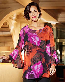 Joanna Hope Pint Blouse