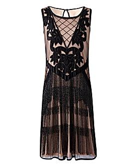 Joanna Hope Tassel Beaded Dress