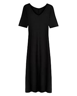 Short Sleeve Jersey Maxi Dress - Tall