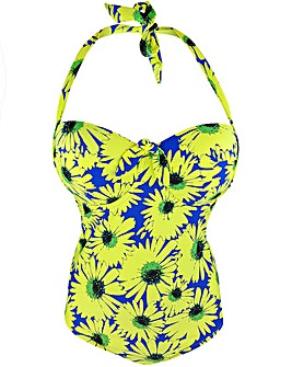 Pour Moi Crazy Daisy Padded U/Wired Suit