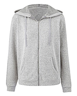 Soft Touch Zip Hoodie