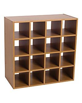 Sixteen Cube Storage