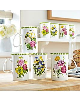 Spring Posy Porcelain Mugs 8