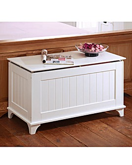 Tongue and Groove Blanket Box