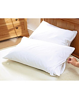 Fully Enclosed Pillow Protector (2)