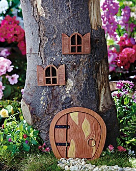 Fairy Door and Windows