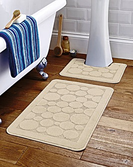 Circles Long Bath Mat