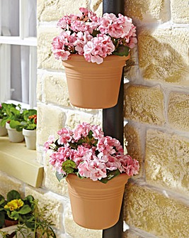 Drainpipe Basket Set of 2