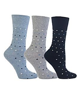 Gentle Grip Socks 6 Pairs