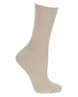 Seam Free Cotton Rich Socks 3 pairs