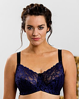 Miss Mary Minimiser Black Bra