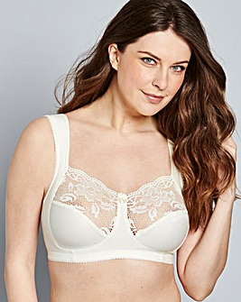 Miss Mary Non Wired Champagne Bra