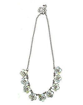 Lizzie Lee Multi Flower Necklace