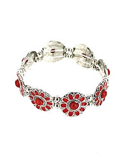 Lizzie Lee Flower Panel Bracelet