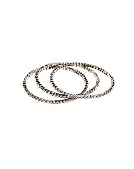 Lizzie Lee Diamant� Bangle Set