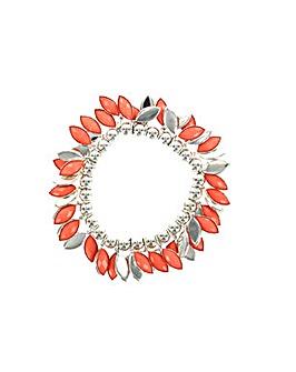 Pastel Coloured V Shaped Bracelet
