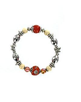 Natural Stone Bead Bracelet