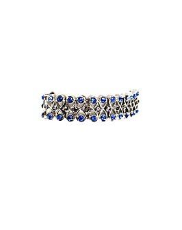 Diamant� Encrusted Bracelet