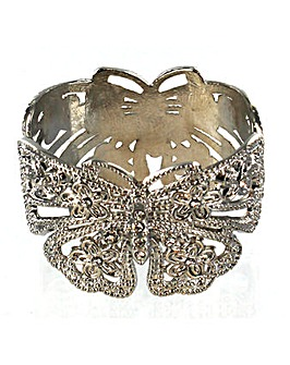 Magnetic Butterfly Bangle