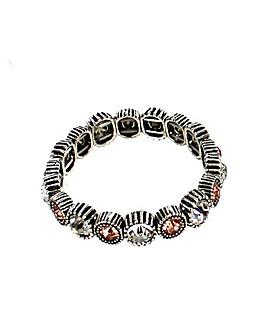 Lizzie Lee Glass Stone Bracelet
