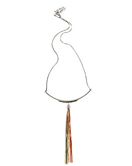 Lizzie Lee Lariat Tassel Necklace