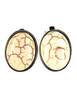 Stone Clip On Earring