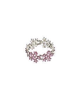 Flower Elasticated Bracelet