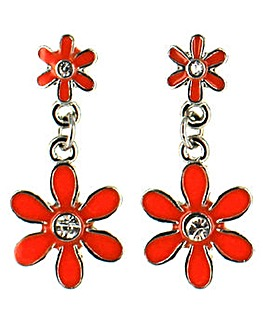 Lizzie Lee Flower Drop Earring