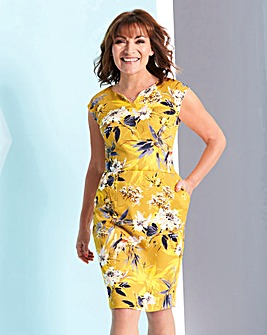 Lorraine Kelly Oriental Print Dress