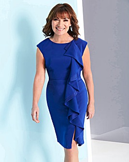 Lorraine Kelly Front Frill Dress