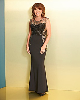 Lorraine Kelly Sequin Maxi Dress