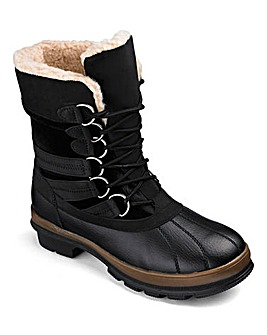 Heavenly Soles Mid Snow Boots D Fit