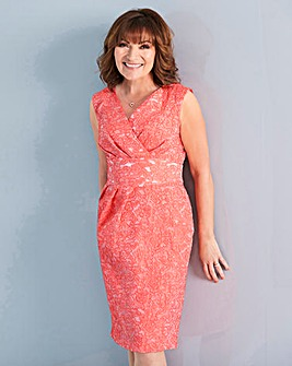 Lorraine Kelly Coral Tulip Dress